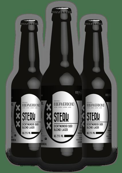 Sterk - Dortmunder beer from Brewery Bierverbond Amsterdam