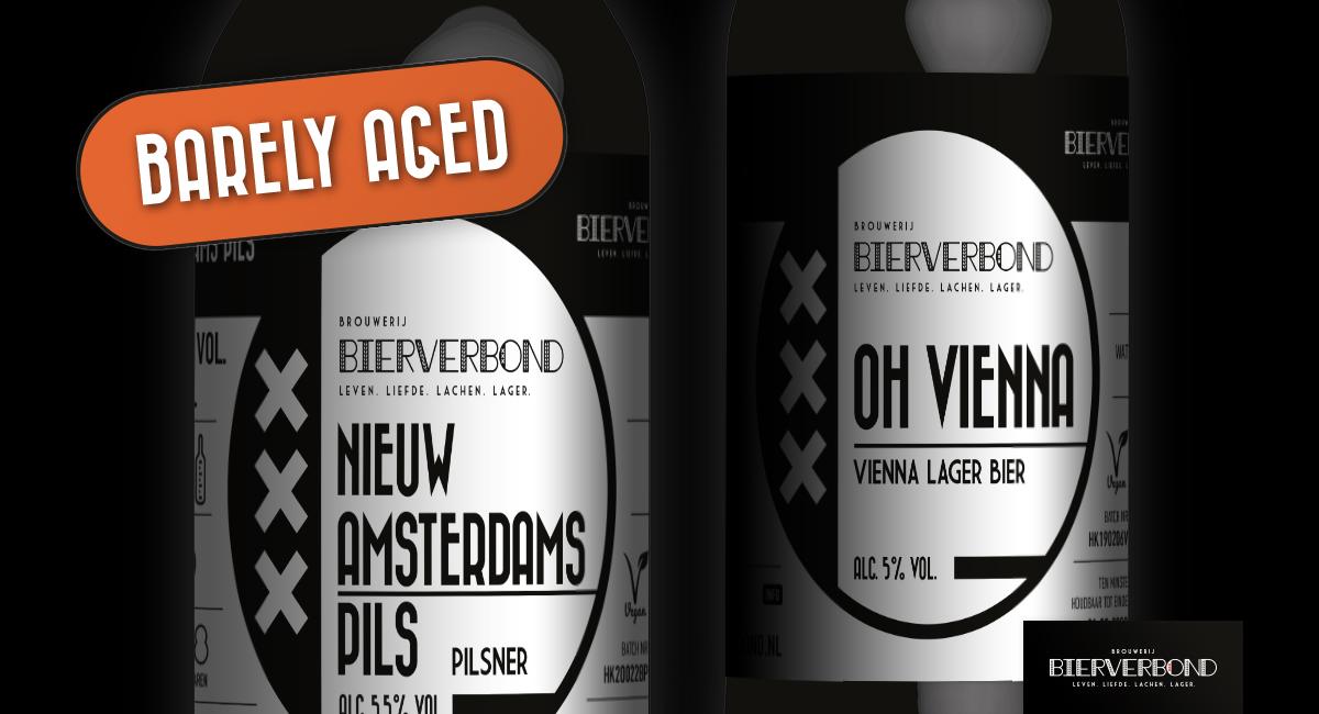 Barely Aged Bier, de nieuwe noviteit van Bierverbond Amsterdam