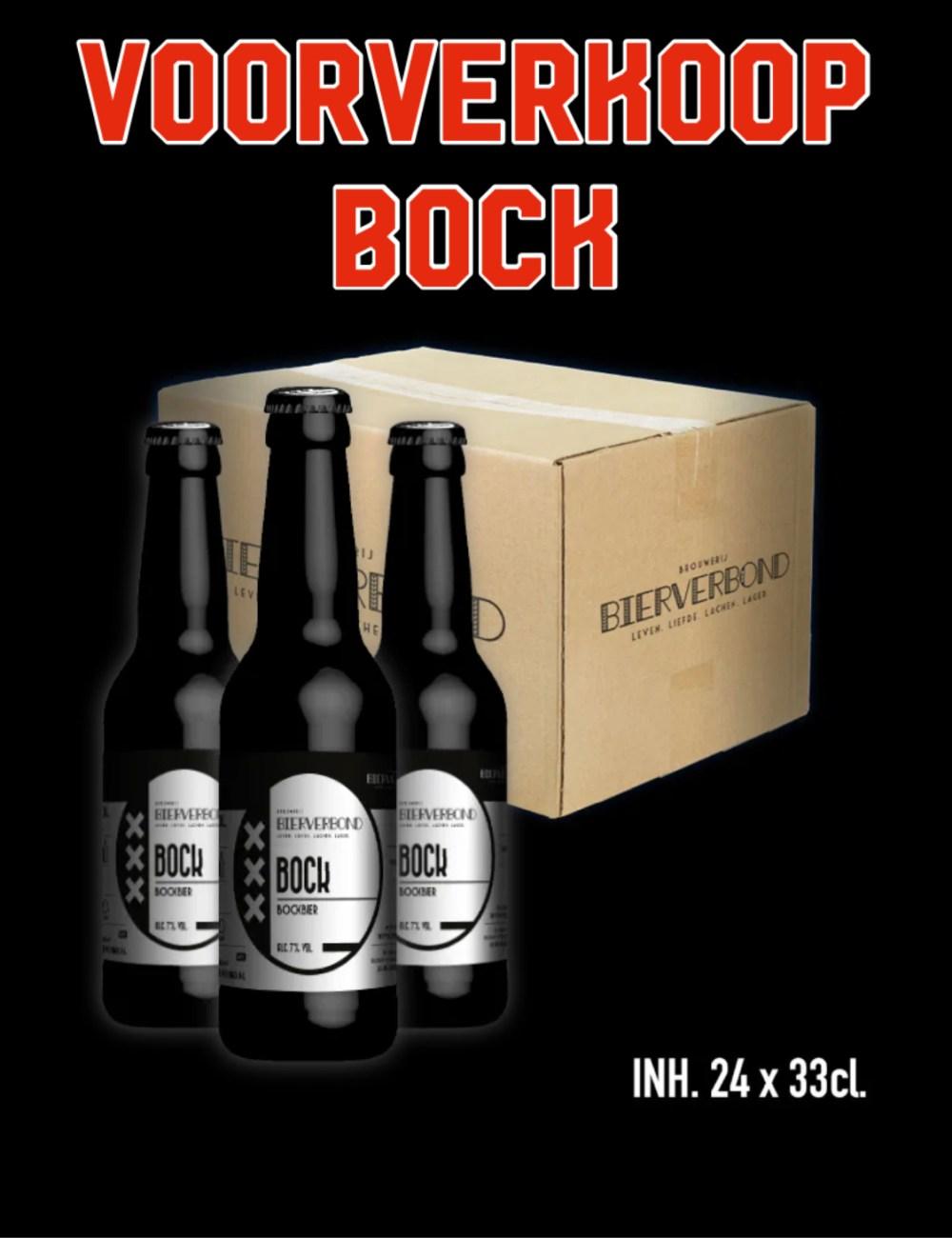 24 flesjes Bock