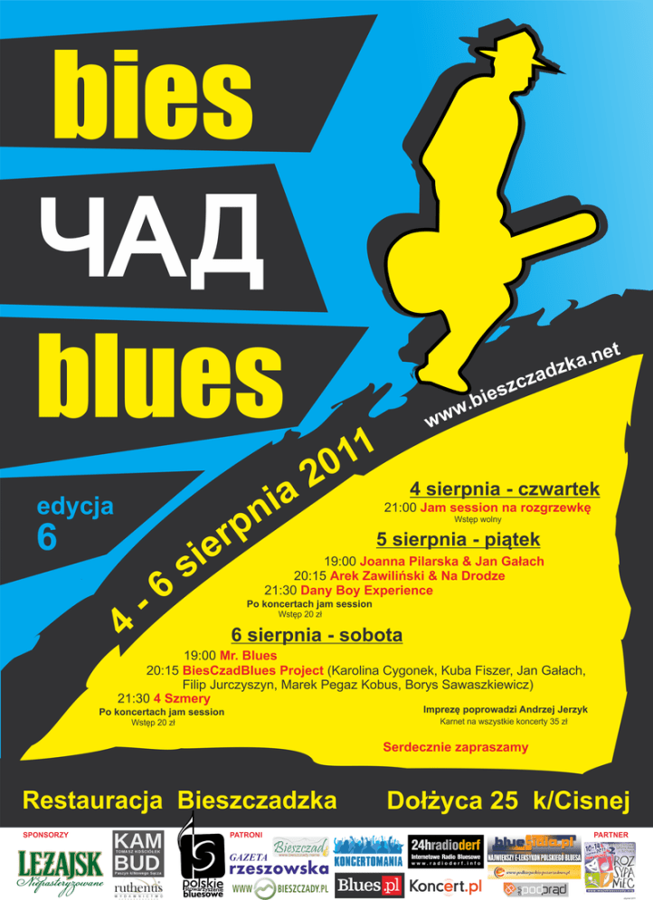 bies_czad_blues_2011_plakat