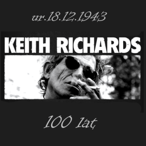 Keith Richards ma 70 lat