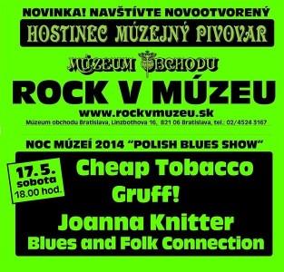 Polish Blues Show – Noc múzeí 2014