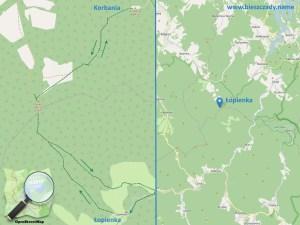 Lopienka_Korbania_mapa