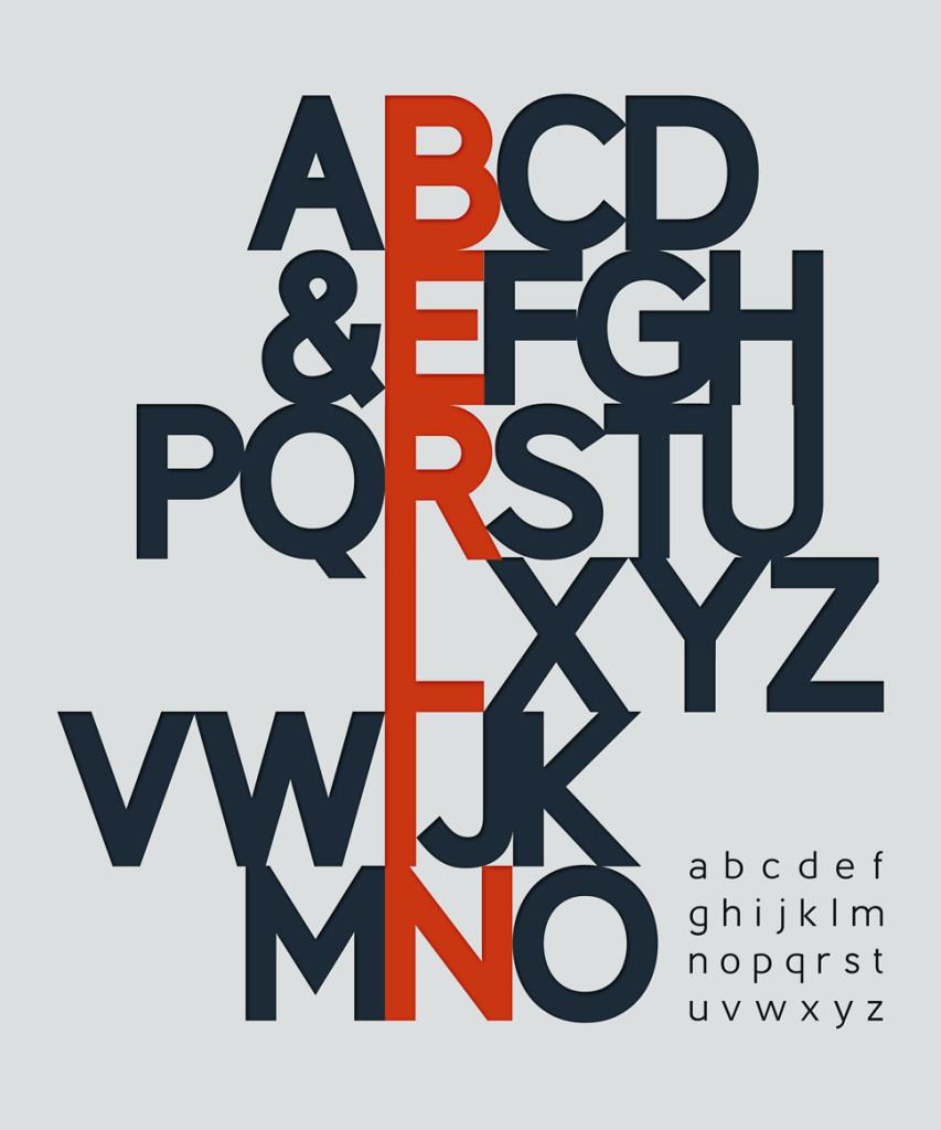 Berlin og alfabetet i omrokert rekkefølge