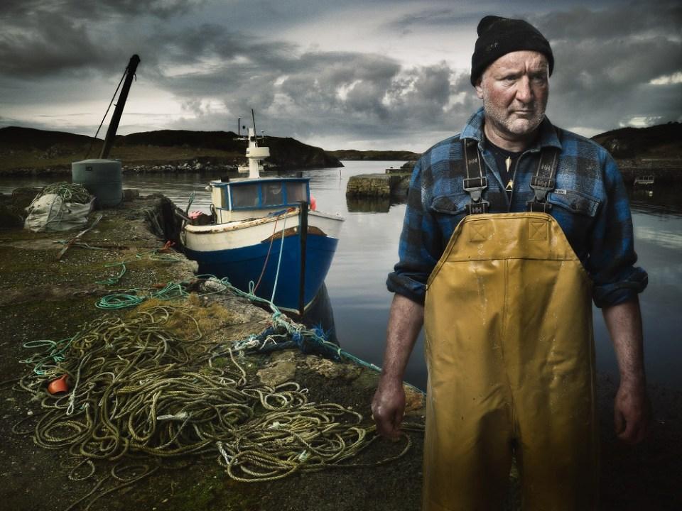 fisker ved havn