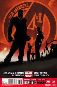 New Avengers 1 cover