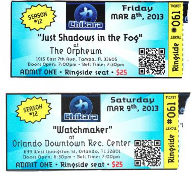 2orlando tickets