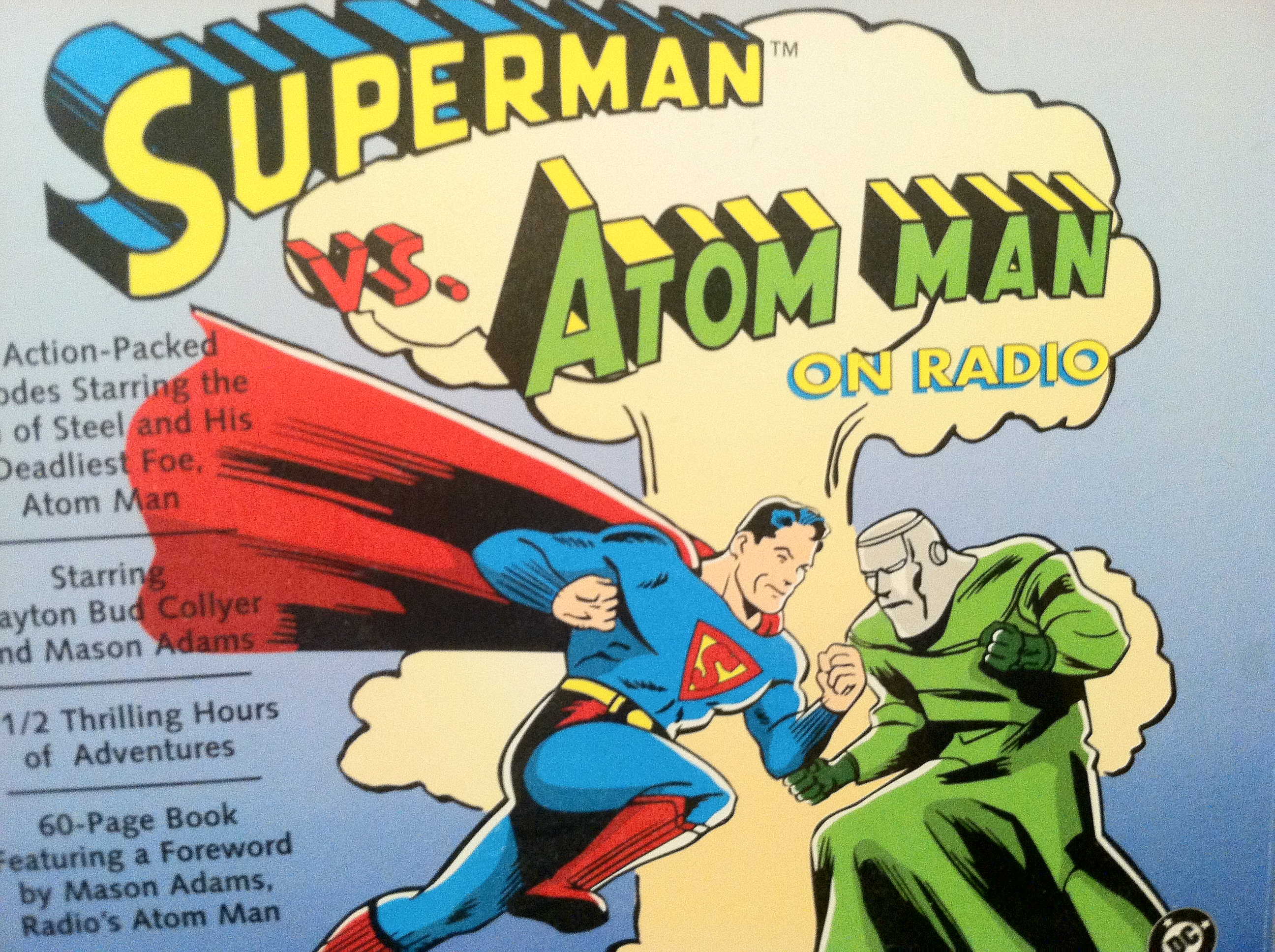 Image result for Atom Man radio
