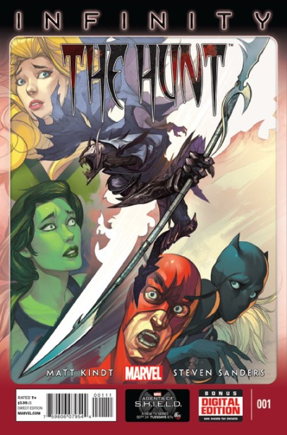 INFINITY HUNT cover