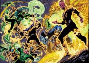GL Sinestro Corps War