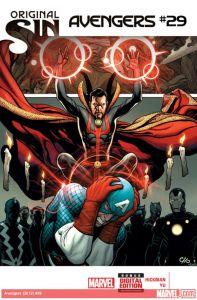 Avengers 29 cover