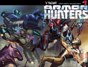 Armor Hunters 1 cover