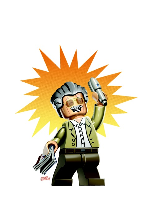 Special Stan Lee Lego Variant Cover