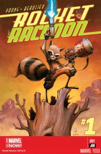 Rocket Raccoon 1 cover