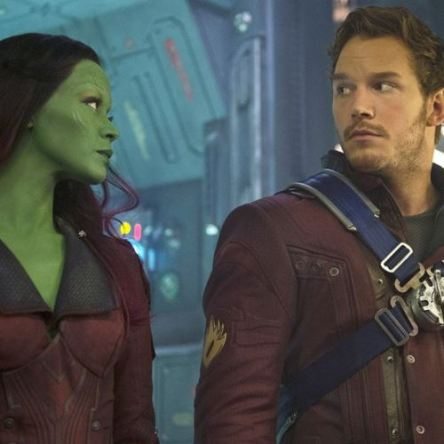 Gamora & Star Lord