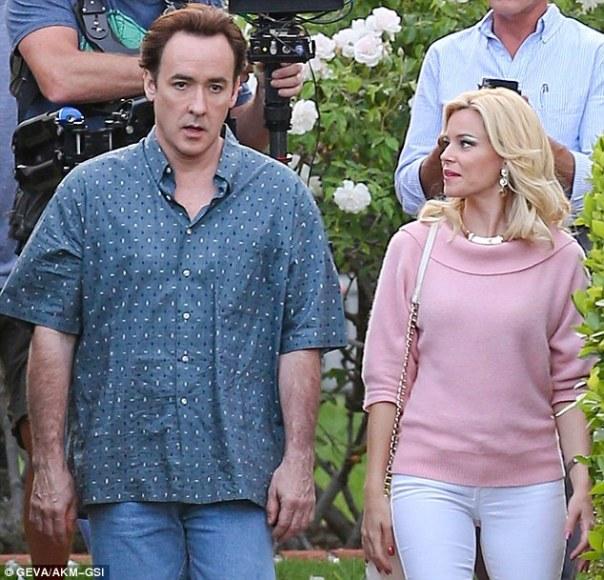 John Cusack as Brian Wilson and Elizabeth Banks as Melinda Ledbetter.