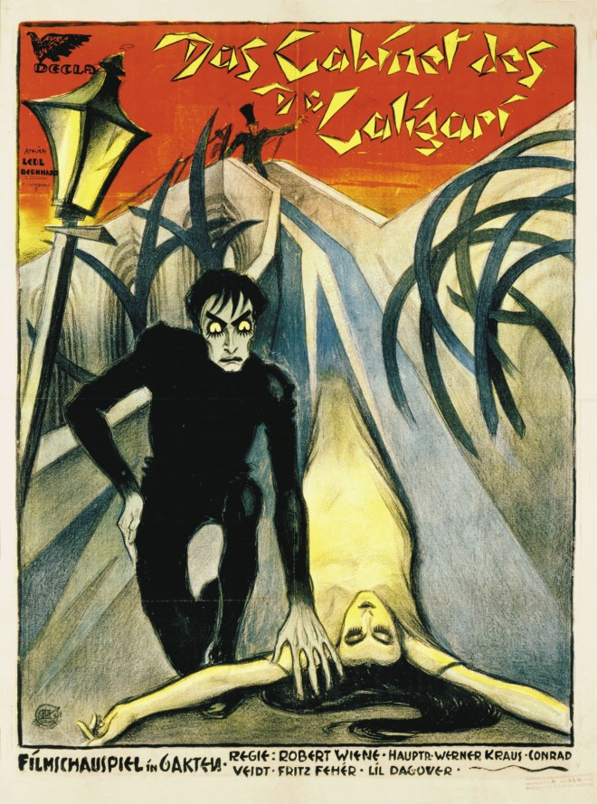 Promotional poster for The Cabinet of Dr. Caligari.