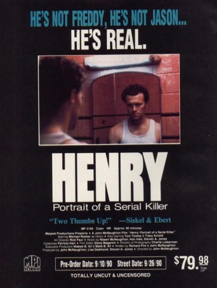 31 Days of Horror 2014 - Henry: Portrait of a Serial Killer (1986)