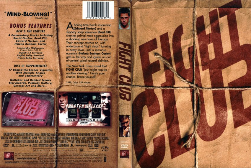 fight club dvd  Leiki Veskimets On...the Fight Club DVD Commentary -