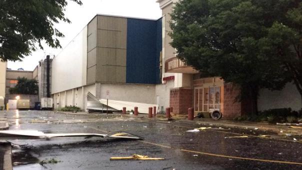 The Deptford Mall, post tornado