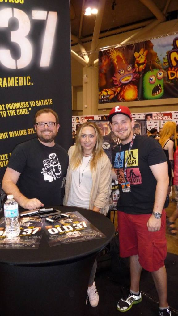 Andy, Brandi Cyrus, and Mat