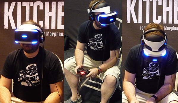 BBP's Andy Burns tries out Project Morpheus at Fan Expo 2015