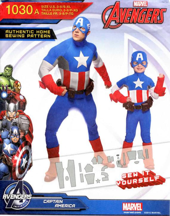 Capn Marvel SPattern