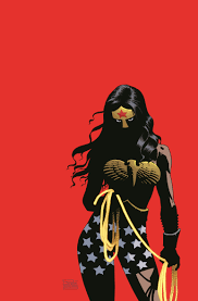 Wonder Woman Risso art