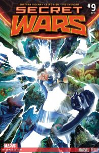 Secret Wars 9 cover