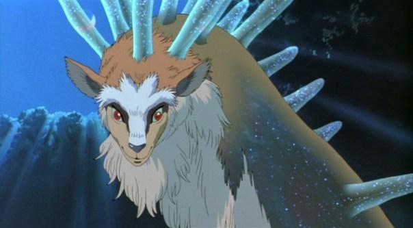 Princess Mononoke Forest god