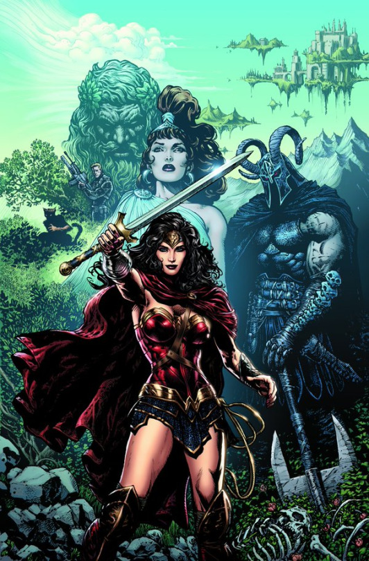 Cover for Wonder Woman (Vol. 5) #1. Art by Liam Sharp.