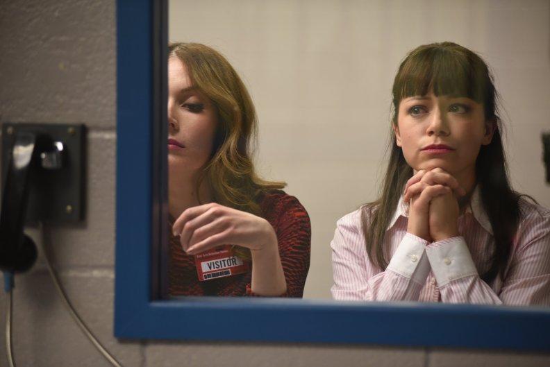 Adele (LAUREN HAMMERSLEY) and Alison (TATIANA MASLANY)