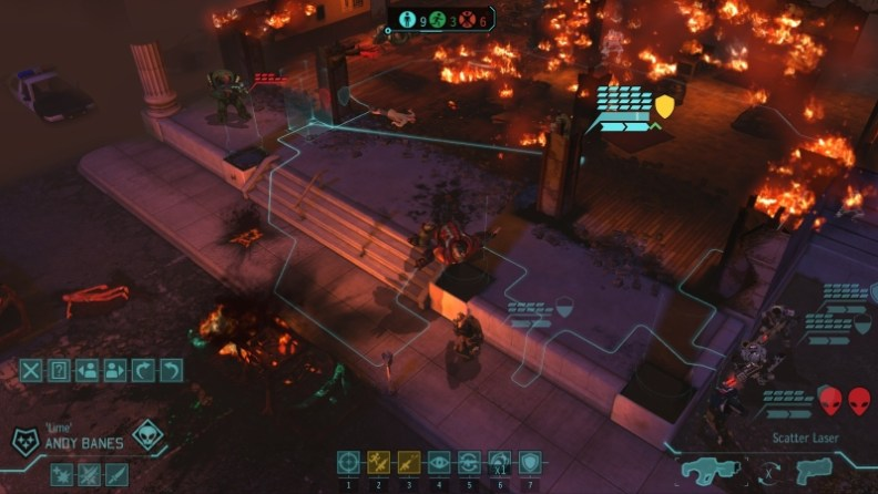 XCOM_Enemy_Unknown,_illustration_of_the_combat_UI