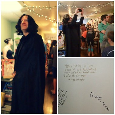 Harry Potter Release Party-Professor Snape