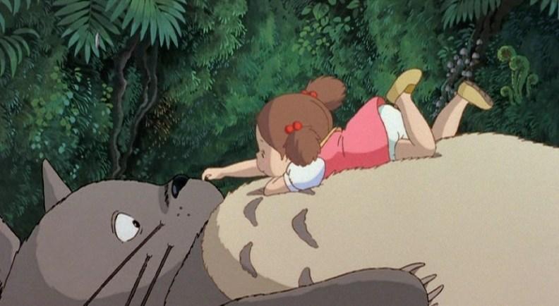 Totoro Nose scratch