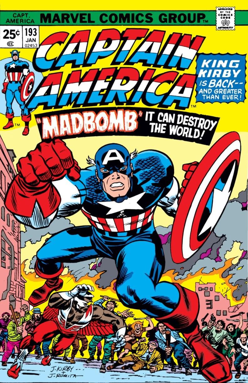 Captain America 193-000