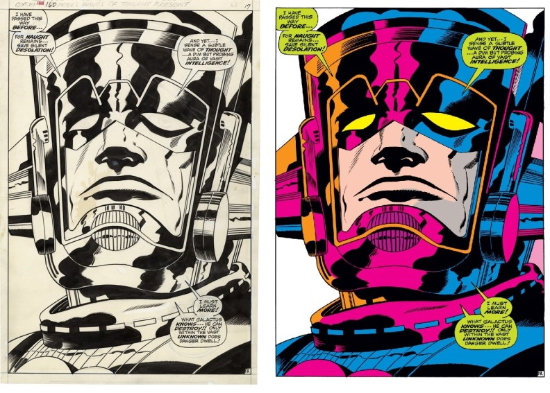 Big G by Jack Kirby A