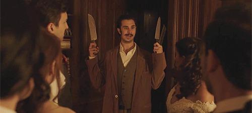 Edgar Allan Poe knives