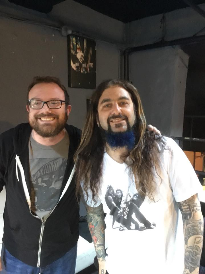 Andy Burns and Mike Portnoy
