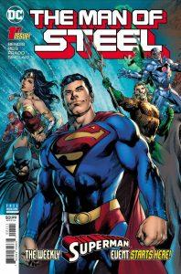comic book Man of Steel Brian Michael Bendis Ivan Reis Joe Prado DC Comics Superman