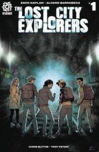 The Lost City Explorers AfterShock Comics Zack Kaplan Alvaro Sarraseca