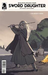 Sword Daughter Brian Wood Mack Chater Dark Horse Comics Vikings comic books