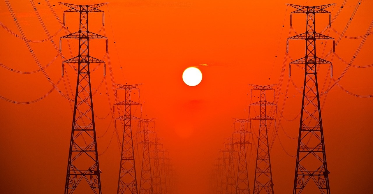 Rows of towers and wires in the full South Korean sun - image for The Leftscape, Pagans, Prison, and Propaganda""