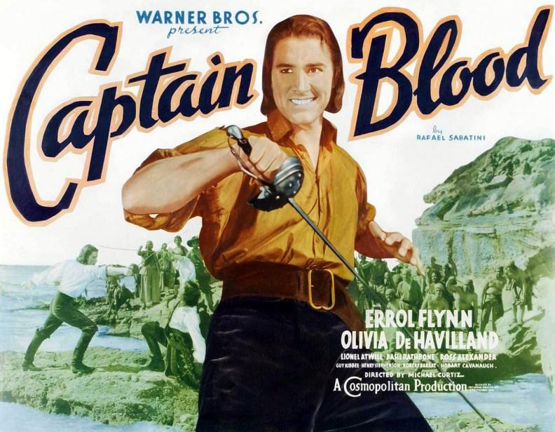 Errol Flynn as Captain Blood