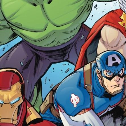 Marvel Action Avengers #1 IDW Publishing Matthew K. Manning Jon Sommariva