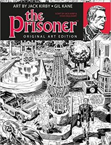 The Prisoner Art Edition Jack Kirby Gil Kane Titan Comics
