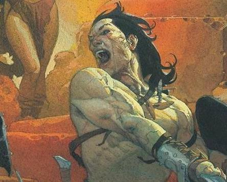 Conan the Barbarian #1, Conan, Conan the Barbarian, comic book, first issue, Jason Aaron, Mahmud Asrar, Marvel Comics