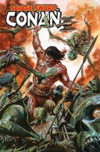 Savage Sword of Conan #1, Gerry Duggan, Ron Garney, Richard Isanove, Marvel Comics, first issue, Conan, Savage Sword of Conan