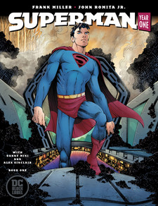 Superman Year One #1, Frank Miller, John Romita Jr., Danny Miki, DC Comics, Superman, Superman Year One