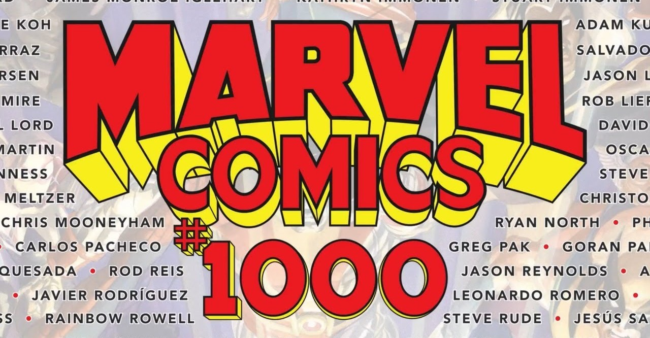 Marvel Comics #1000, Marvel Comics, comic books,